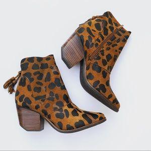🆕 Matisse Laney booties in Leopard